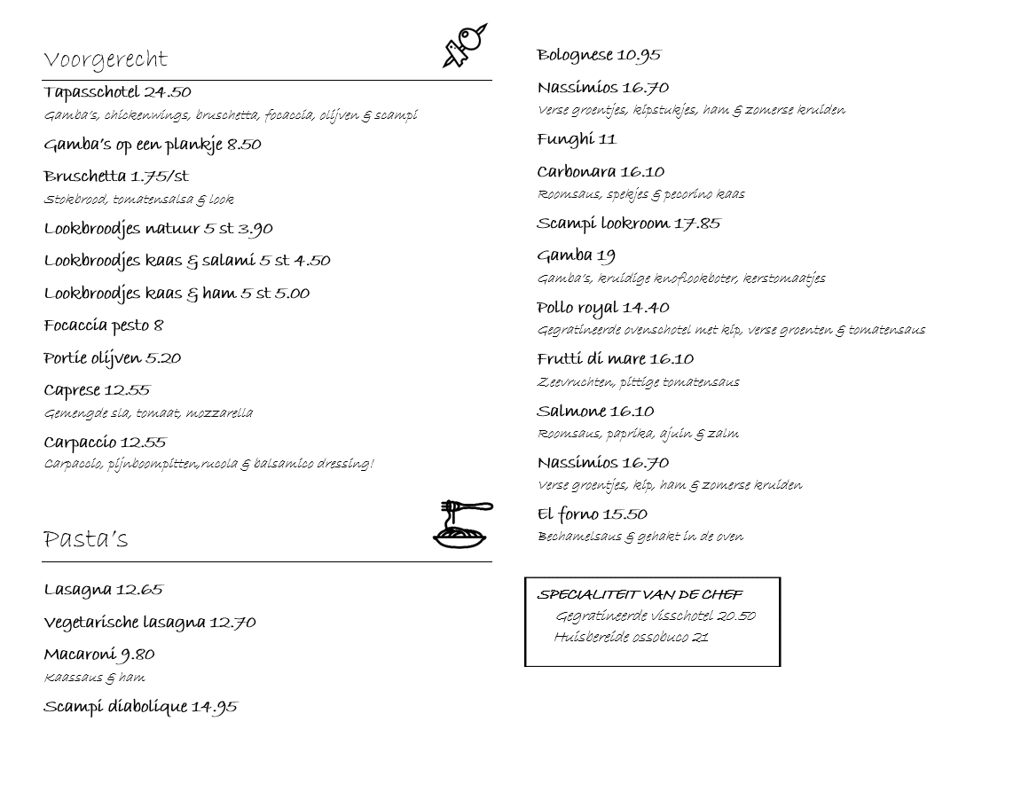 menukaart1